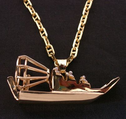 Custom Made Air Boat Pendant