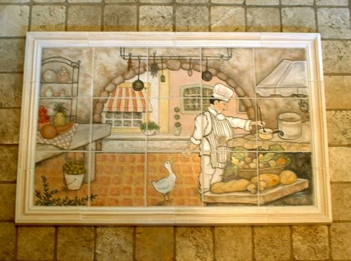 Custom Made Chef's Choice Kitchen Mural