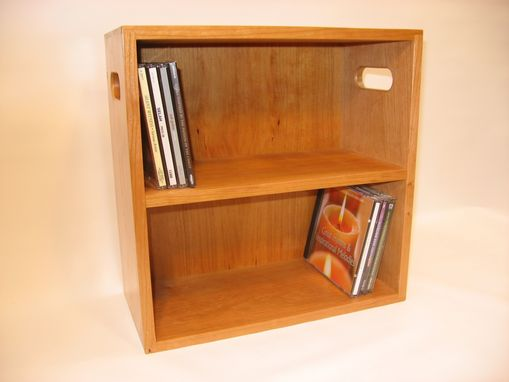 Custom Made Cd / Dvd Cabinet