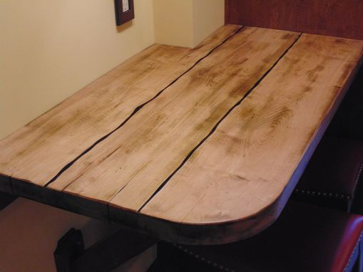 Custom Made Solid Maple Dining Table