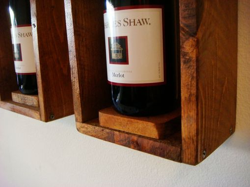 Custom Made Wine Bottle Frames