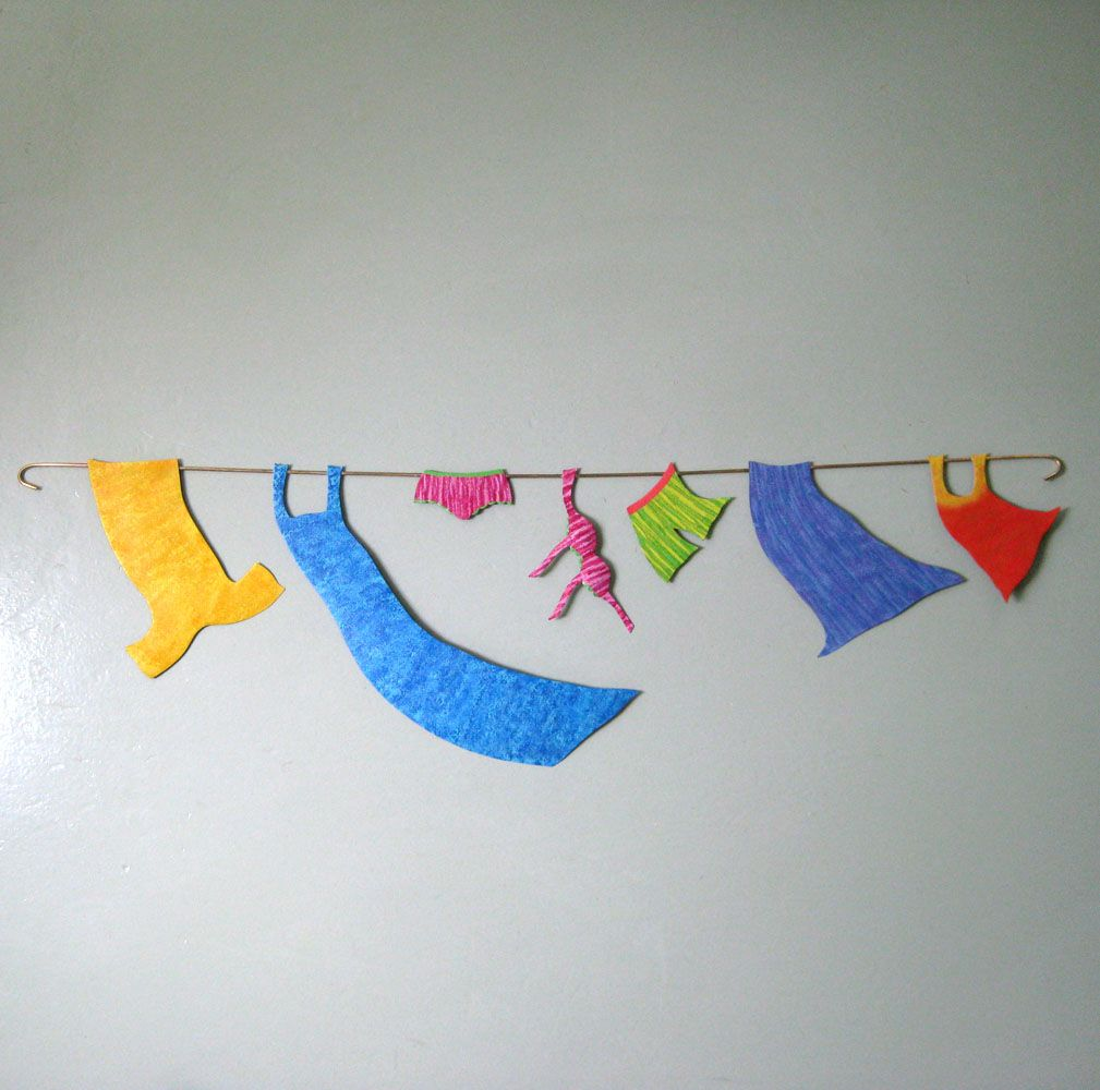 Upcycled Wall Art Hand Made Handmade Upcycled Metal Clothesline Wall Art For Laundry
