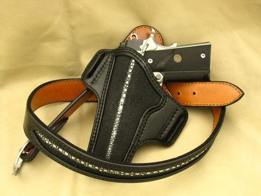 Custom Made Handmade Custom Stingray Holster
