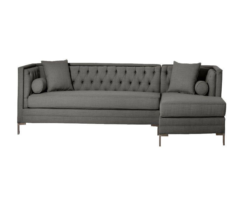 Handmade Custom Mid Century Modern Sectional Sofa by Hammers ...
