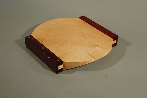 Custom Made Maple And Padauk Cutting Board