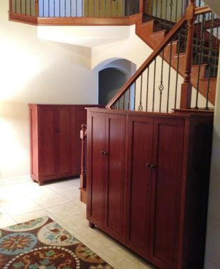 Custom Made Shoe Storage Double Units