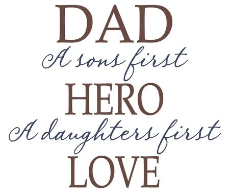 Custom Made Dad ~ Hero/Love