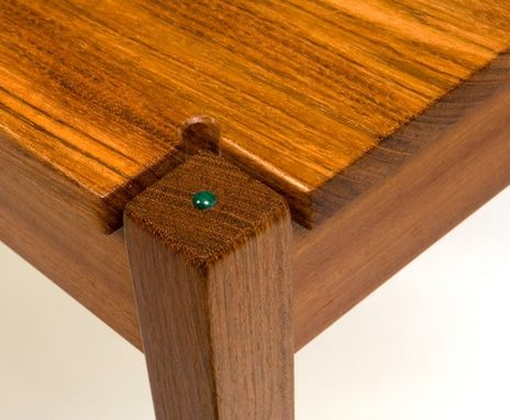 Custom Made Jatoba With Malachite Cab's.