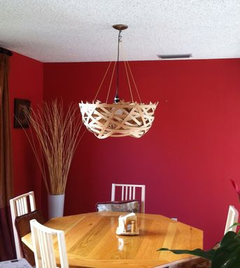 Custom Made Birds Nest Lampshade