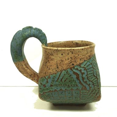 Custom Made Hand Built Stoneware Cup
