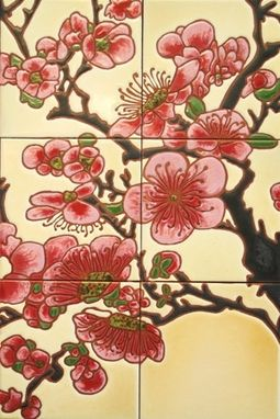 Custom Made Cherry Blossoms - Decorative Mural