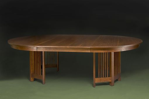 Custom Made Mission Extension Dining Table