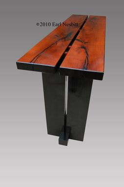 Custom Made Sofa Table, Or Hall Table, Mesquite