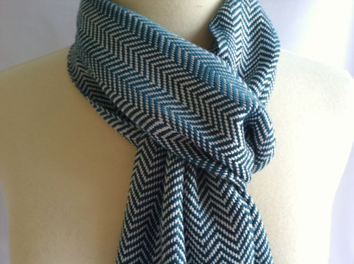 Custom Made Handwoven Scarf Narrow Bamboo Wrap