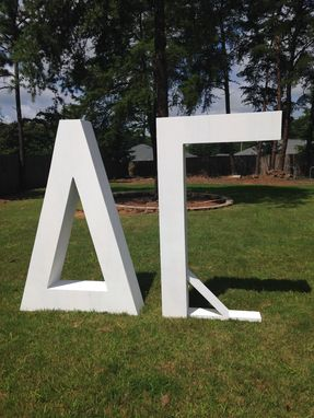 Custom Made Sorority Yard Letters