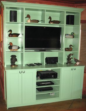 Custom Made Custom Built Entertainment Center