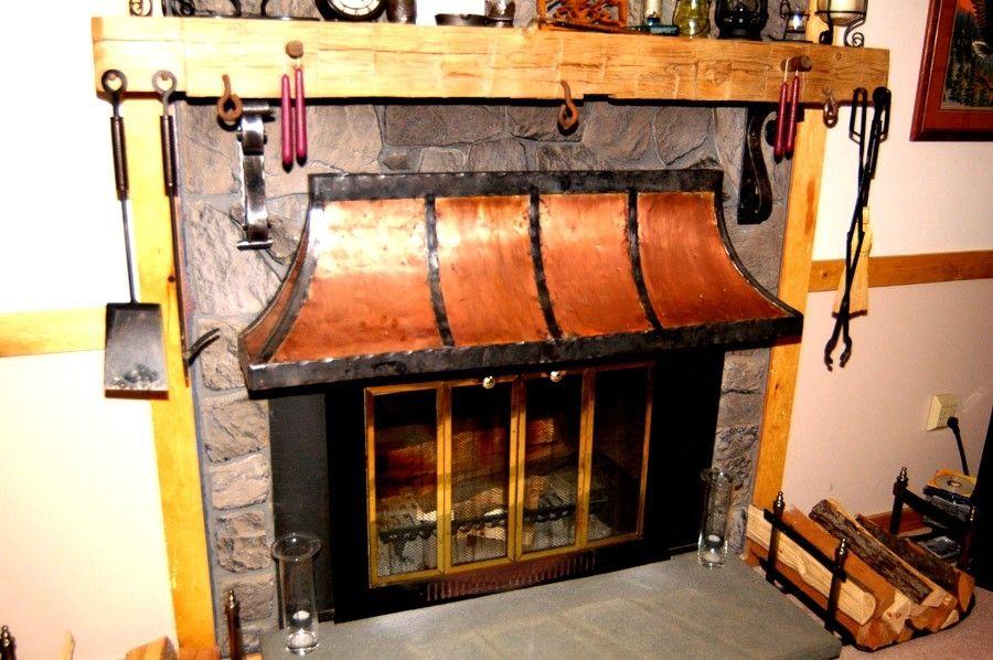 Custom Made Fireplace Hood By Paulsen Iron Works Custommade Com