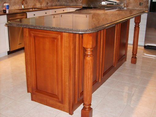 Custom Maple Kitchen Island