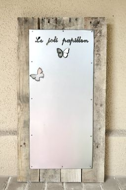 "Custom Made ""Le Joli Papillon"" Magnet Board"