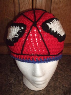 Custom Made Spiderman Inspired Beanie