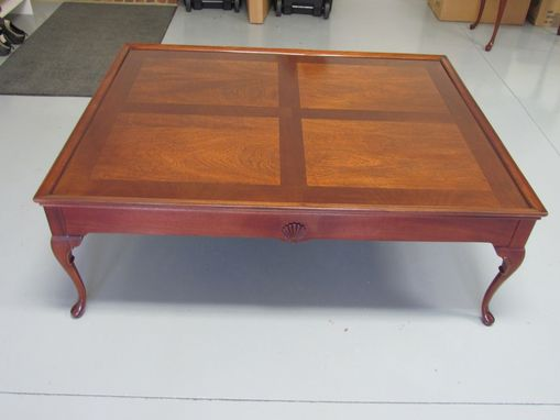 Custom Made Coffee Table With Cabriole Legs