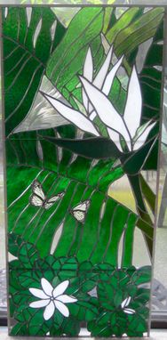 Custom Made Stained Glass Window - Tiare