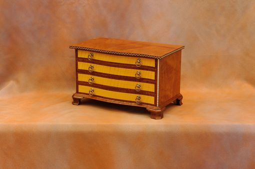 Custom Made Four Drawer Jewelry Box