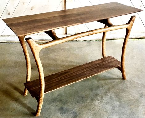Custom Made Sculpted Console Table