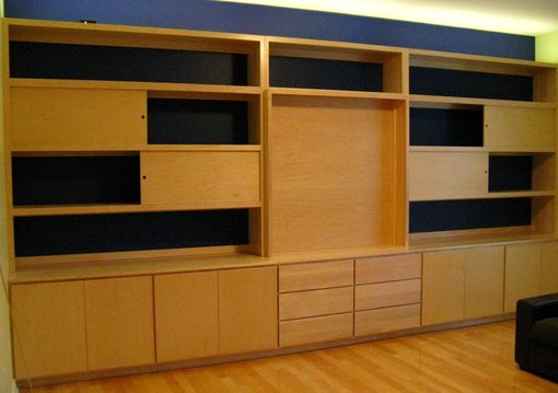 Custom Made Built In Wall Unit