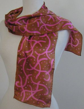 Custom Made Breast Cancer Survivor Scarves