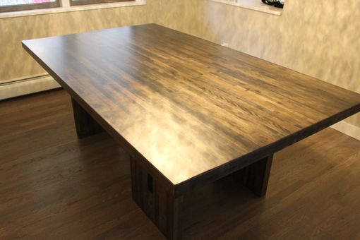 Custom Made The Lanham - Salvaged Mixed Hardwood Dining Table