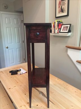 Custom Made Distressed End Table