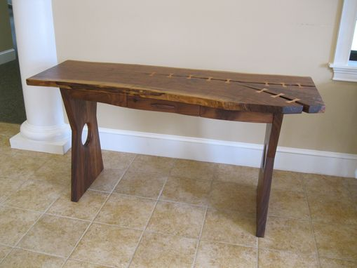 Custom Made Natural Edge Writing Table / Desk