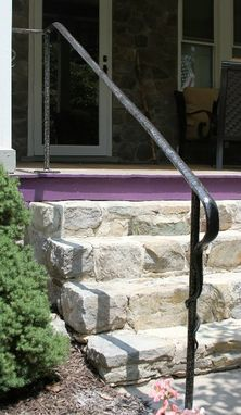 Custom Made Forged Railings