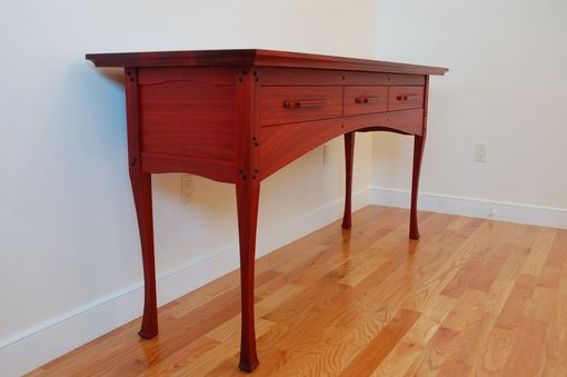 Custom Made Asian-Influenced Bedroom Dressing Room Table