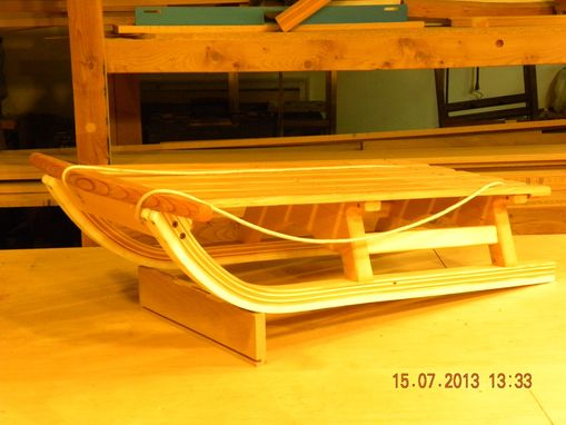 Custom Made Woodwen Sleds