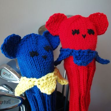 Custom Made Dancing Bear Golf Head Covers