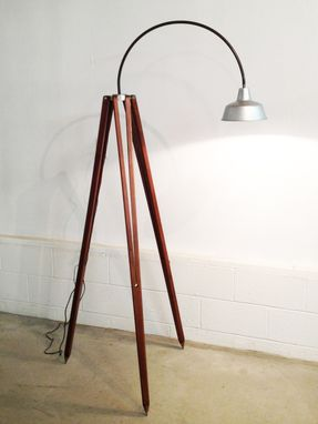 Custom Made Tripod Floor Lamp