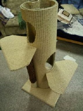 Custom Made Climbable Cat Tower