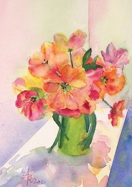 Custom Made Flower And Floral      Paintings