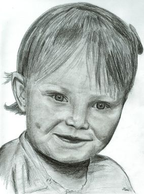 Custom Made 8 X 10 Portrait Drawing