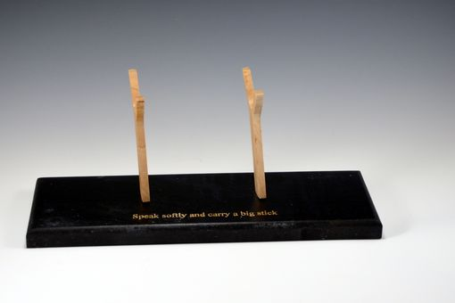 Custom Made Pen / Wand Holder With Inscription