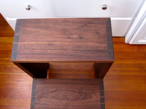 Hand Made Shaker Style Step Stool By Godet S Furniture And