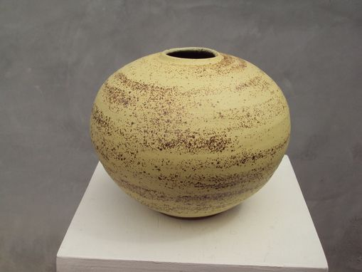 Custom Made Stoneware Vase
