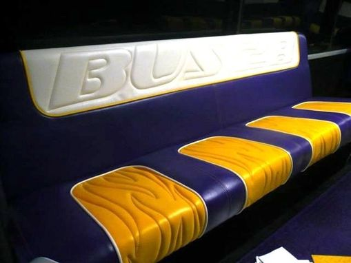 Custom Made Lsu Tailgating Party Bus
