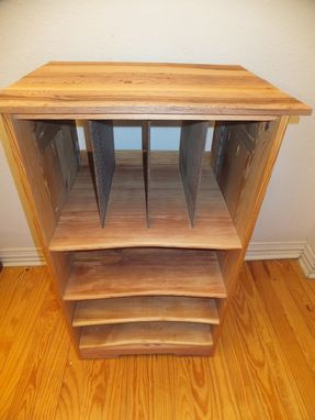 Custom Made Reclaimed Wood Stand