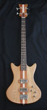 Custom Made Neck Thru Bass Guitar