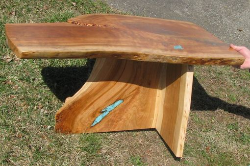 Custom Made Live-Edge Cherry Coffee Table