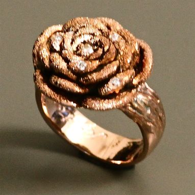 Custom Made Rose Ring