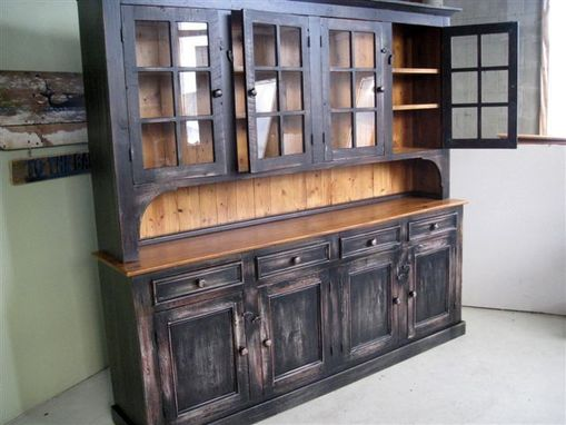 Custom Made Custom Hutch With Multi Colored Finish